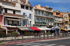 Bandol, France - april 20 2016 : the picturesque city Stock Photography