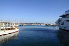 Bandol marina in France Royalty Free Stock Photos