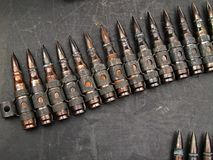 Bandoleer of Bullets Stock Images