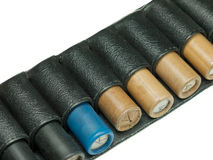 Bandolier of bullets Stock Photography