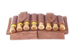 Bandolier com cartuchos da caça Fotografia de Stock Royalty Free