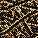 Bandolier Tape bullets seamless pattern. Military background.  Stock Photos