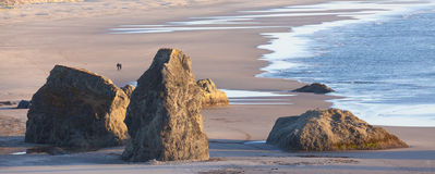 Bandon beach Stock Image