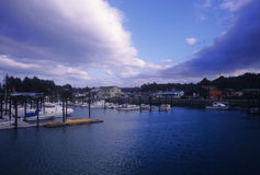 Bandon Harbor Royalty Free Stock Photography