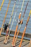 Bandon Poles Royalty Free Stock Images