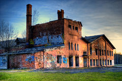 Аbandoned farm building Royalty Free Stock Photography