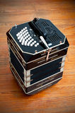 Bandoneon. Traditional tango musical instrument, called bandoneon Stock Photography