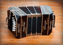 Bandoneon. Traditional tango musical instrument Royalty Free Stock Photography