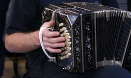 Bandoneon royalty free stock photos