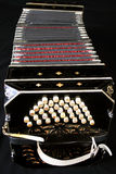 Bandoneon on Black Stock Photos