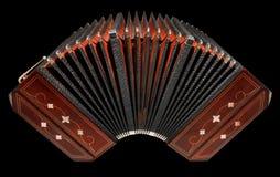 Bandoneon, instrumento del tango de Argentina, aislado Foto de archivo libre de regalías