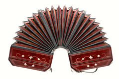 Bandoneon, strumento di tango Fotografia Stock