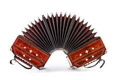 Bandoneon, tango instrument Stock Photos