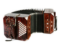 Bandoneon, tango instrument Stock Images