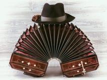 Bandoneon tango instrument Royalty Free Stock Photo