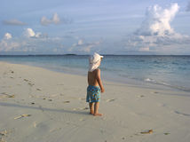 bandosi beach słońca Obraz Stock