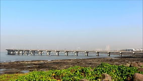 BANDRA-WORLI海链接,孟买 影视素材