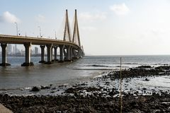 Bandra, Worli morza połączenie - zdjęcia royalty free