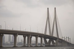 Bandra-Worli Sea Link-five Stock Photo
