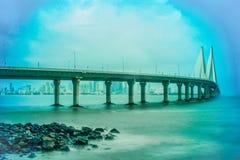 Bandra Worli sea link stock photography