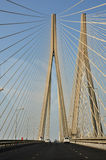 Bandra-Worli Sea Link. In Mumbai, India Stock Images