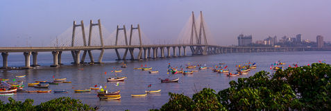 Bandra Worli Sea Link Stock Photos