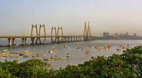 Bandra Worli Sea Link Stock Image