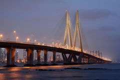 Bandra-Worli Sea Link Royalty Free Stock Images