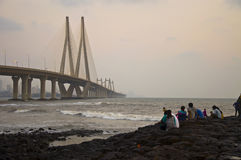 Bandra-Worli Sea Link � Two Stock Images