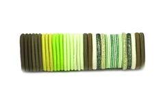 bands elastiskt hår Arkivbilder