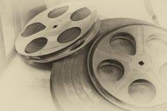 Bandspule des Filmes Stockbild