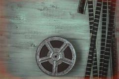 Bandspule des Filmes Lizenzfreies Stockbild