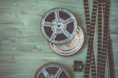 Bandspule des Filmes Lizenzfreies Stockfoto