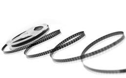 Bandspule getrennt auf Weiß Lizenzfreie Stockfotos