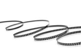 Bandspule getrennt auf Weiß Lizenzfreie Stockbilder