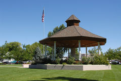 Bandstand. In Minden, Nevada Stock Photo