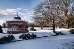 bandstand Arkivbild
