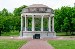 Bandstand at the Boston Common. Central Park royalty free stock photos