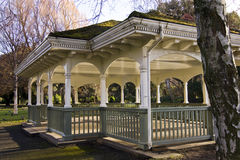 Bandstand in park. A Victorian bandstand in a park in Dublin Stock Photography