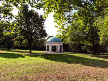 Bandstand. Empty public park bandstand in autumn Stock Images
