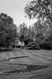 Bandstand & Gardens royalty free stock photo