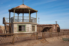 Bandstand at Humberstone Saltpeter Works Stock Images