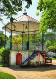 Bandstand of Moura village Royalty Free Stock Image