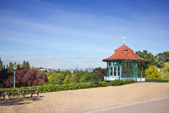 Bandstand Park View Stock Photography