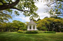 The Bandstand in Singapore Botanic Gardens. Stock Image
