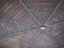 Bandstand Wood Ceiling Royalty Free Stock Photos