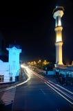 BANDUNG, INDONESIA – JUNE 24: Bandung at night Stock Image