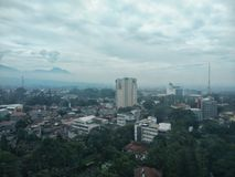 Bandung pejzaż miejski fotografia stock