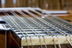 Bandurria métallique de douze ficelles Image libre de droits