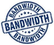 bandwidth błękita znaczek ilustracji